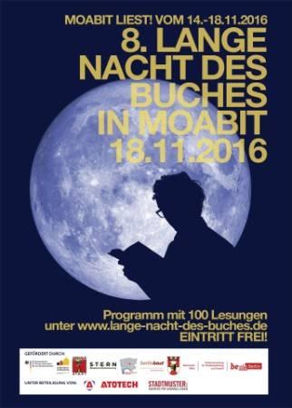 Gratis In Berlin 8lange Nacht Des Buches In Moabit Philipp