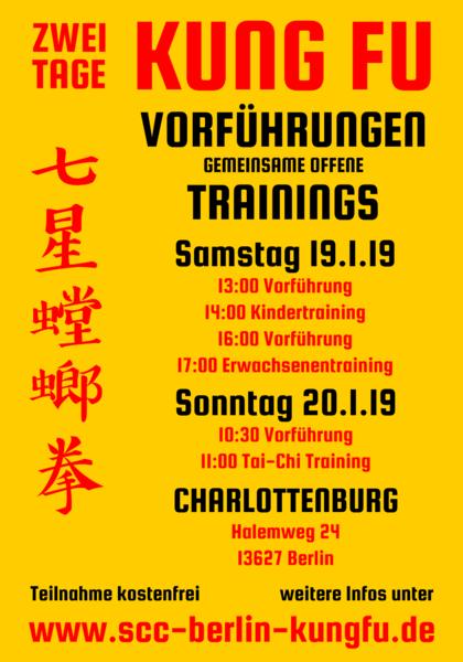 Gratis In Berlin Zwei Tage Kung Fu Auftakt 2019 In