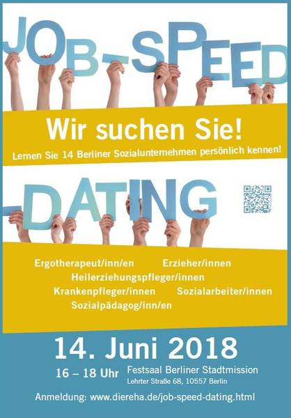 gratis in berlin job speed dating f r soziale berufe. Black Bedroom Furniture Sets. Home Design Ideas