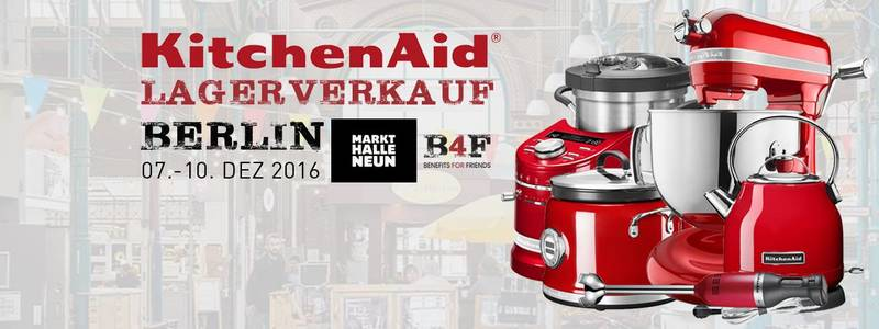 gratis in berlin kitchenaid lagerverkauf von k chenger ten in markthalle neun. Black Bedroom Furniture Sets. Home Design Ideas