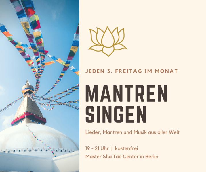 Gratis in Berlin - Mantren Singen • Musik aus aller Welt