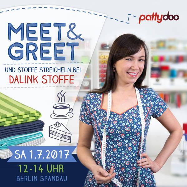Gratis In Berlin Pattydoo Meets Dalink Stoffe