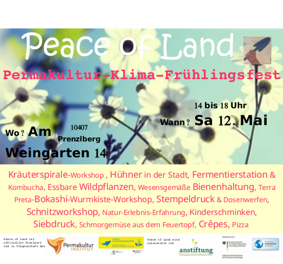 Permakultur Berlin gratis in berlin permakultur klima frühlingsfest