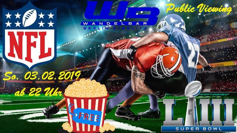 Super Bowl Sonntag