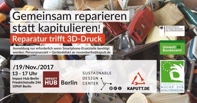 gratis in berlin reparatur trifft 3d drucker gemeinsam reparieren statt kapitulieren. Black Bedroom Furniture Sets. Home Design Ideas