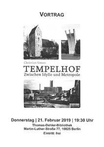 Tempelhof- Zwischen Idylle und Metropole