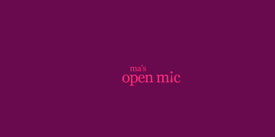 Ma's Open Mic – Comedy in Mitte... in English!