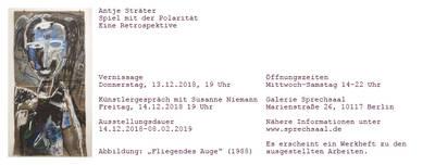 Vernissage Antje Sträter – Spiel mit der Polarität – Retrosp...