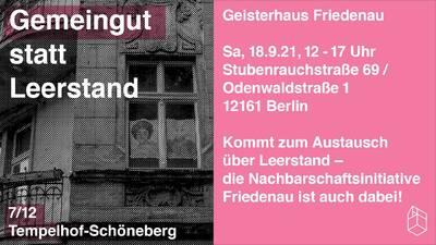 Gemeingut statt Leerstand - Geisterhaus Friedenau, Odenwalds...