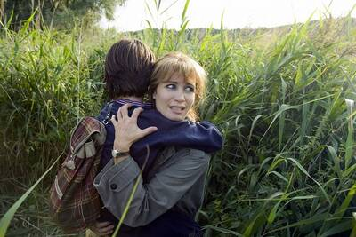 Anja Kling in der Rolle der Katja Schell. Quelle: SAT.1/Dirk Plamböck