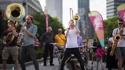 Berlin Brass Festival – Open Air im Soda-Biergarten