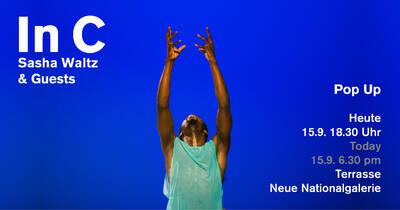 Tanz: Pop Up mit Sasha Waltz & Guests vor der Neuen Nati...