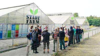 Guided tour at StadtFarm (English)