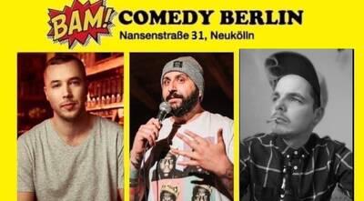 ★ BAM! Comedy Show ★ Stand Up in Neukölln / U-Bhf Hermannpla...