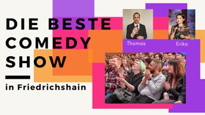 Die beste Comedyshow - in Fhain - 18:30 Uhr
