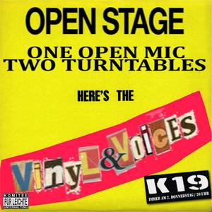 Vinyl & Voices - Die Rap-Open Stage