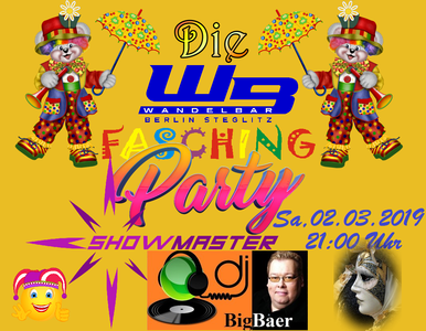 Die WandelBar Faschingsparty