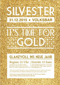 Silvesterparty in der Volksbar