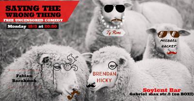 Saying the wrong thing -Free comedy showcase Friedrichshain ...
