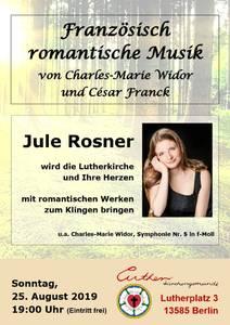 Französisch romantische Musik