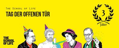 The School of Life Berlin feiert 3-jährigen Geburtstag