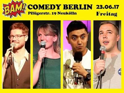 BAM! Comedy Show in Neukölln - Special Guest: Salim Samatou ...