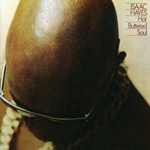 Isaac Hayes Plattencover Hot Buttered Soul 1969