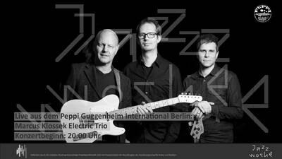 Jazzwoche im Peppi: Marcus Klossek Electric Trio