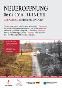 Ausstellung im Grenzturm Nieder Neuendorf