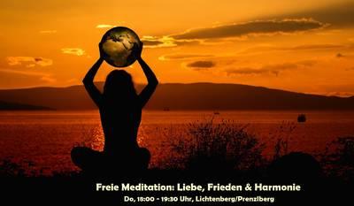 Freie Meditation: Liebe, Frieden & Harmonie