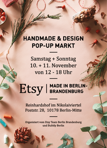 Handmade & Design Pop-Up Market im Nikolaiviertel