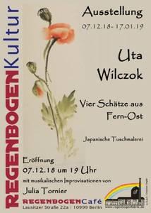 """""""Vier Schätze aus Fern-Ost"""" - Ausstellung im Regen..."""