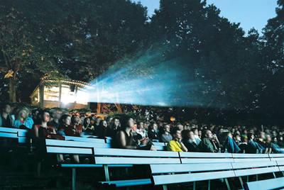FORUM FILM   Backstage im Freiluftkino Hasenheide
