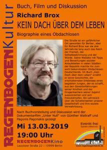 """""""Kein Dach über dem Leben"""" - Lesung im RegenbogenK..."""