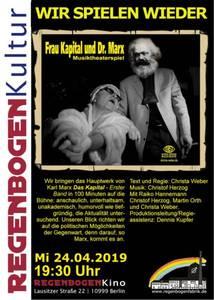 """Frau Kapital trifft Dr. Marx"" - Musiktheater im R..."