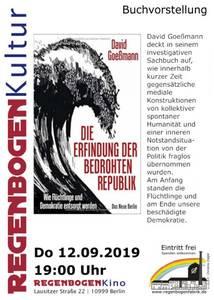 """""""Die Erfindung der bedrohten Republik"""" - Buchvorst..."""