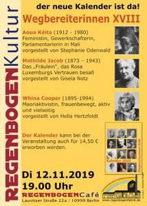 """""""Wegbereiterinnen XVIII"""" - Kalenderpräsentation im..."""