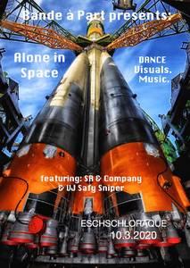 "S R & C o m p a n y mit ""Alone In Space"" (Premiere)"