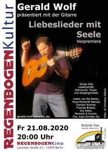 """""""Liebeslieder mit Seele!"""" - Kabarett im Regenbogen..."""