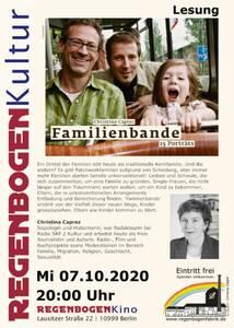 """""""Familienbande"""" - Lesung und Diskussion im Regenbo..."""