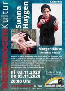 """MorgenHäute"" - Politik-/ Poesie-Kabarett im Regen..."