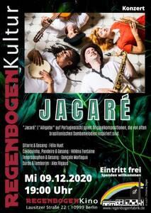 """- Bis auf Weiteres verschoben - """"Jacaré"""" - Konzert..."""