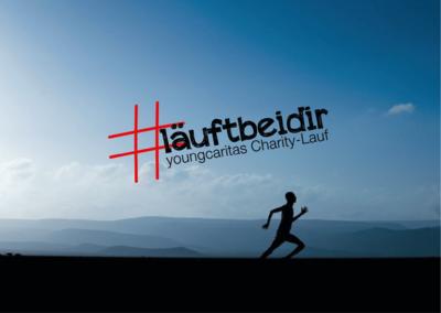 youngcaritas Charity-Lauf #läuftbeidir   Laufen für das Lebe...