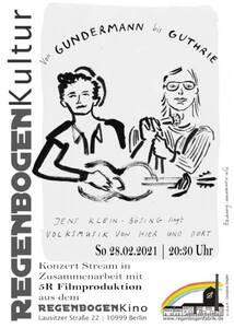 """""""Von Gundermann bis Guthrie"""" - Streaming aus dem R..."""