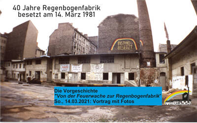 """""""Von der Feuerwache bis zur Regenbogenfabrik"""" - On..."""