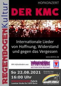 """""""Der KMC"""" - Chor-Konzert im Hof der Regenbogenfabr..."""