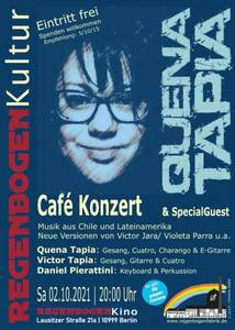 """""""Quena Tapia & Special Guests"""" - Konzert im Re..."""