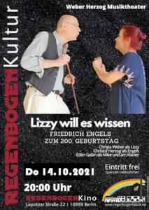 """""""Lizzy will es wissen"""" - Musiktheater im Regenboge..."""