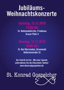 Gospel Jubiläumskonzert(e) - St. Konrad Gospelchor