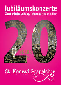 20 years St. Konrad Gospel